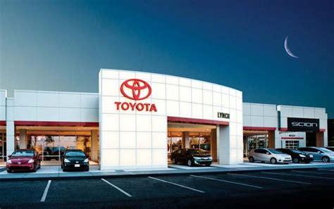 Toyota Dealerships In Alabama Lynch Toyota Of Auburn Auburn Al 36830 Car Dealership