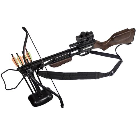jaguar 175 lb crossbow ebay jaguar 175lbs recurve archery crossbow red dot scope