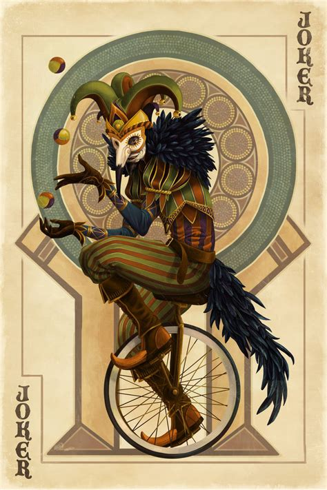 joker card by alixbranwyn on deviantart