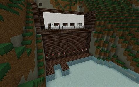 house built into mountain modern house built into mountain minecraft project