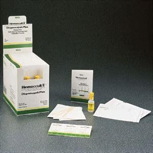 hemoccult fecal occult blood slide test system medline