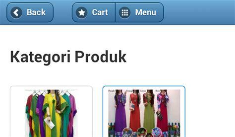 Batik Tunik Mataram toko baju gamis kaftan gamis murni