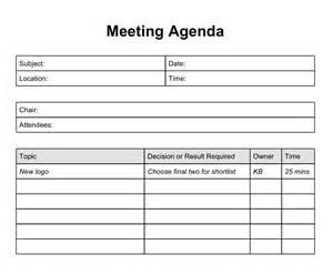 template meeting schedule template excel