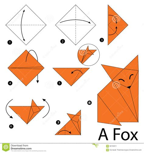 How To Make A Paper Fox - 3d origami fox driverlayer search engine