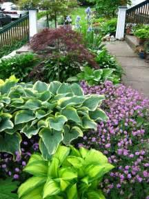 Hosta Garden Ideas Landscaping Front Yard Landscaping Ideas With Hostas