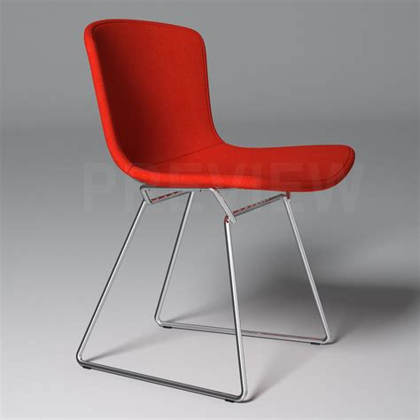Bertoia Chair Cover by Bertoia Side Chair With Cover Knoll 3d Model Max