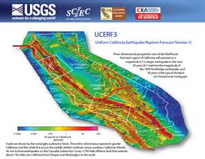third california earthquake rupture forecast