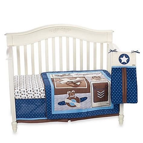 Home Gt Cocalo Baby 174 Lil Aviator 8 Piece Crib Bedding Set By Cocalo Crib Bedding