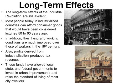 long term effects of c section 81 world history unit10 industrial revolution world