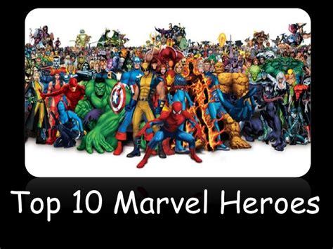 top 10 comics top 10 marvel comic book heroes