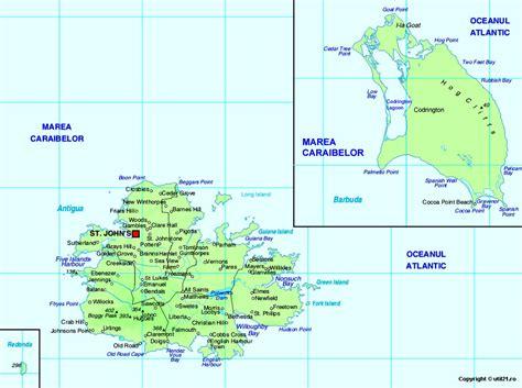 map of antigua and barbuda map of antigua and barbuda maps worl atlas antigua and