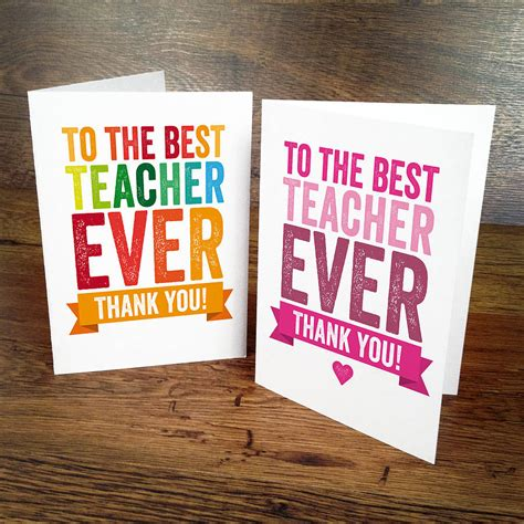 how to make thank you cards for teachers thank you card by a is for alphabet
