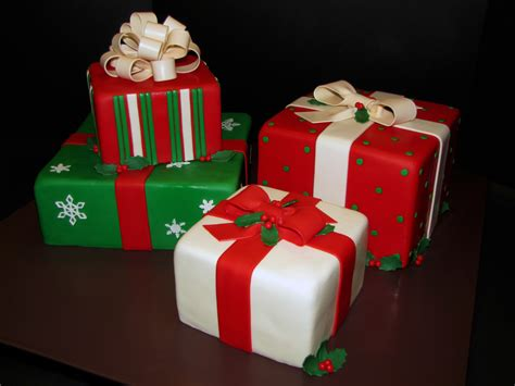 christmas present wedding cake cake decorating community
