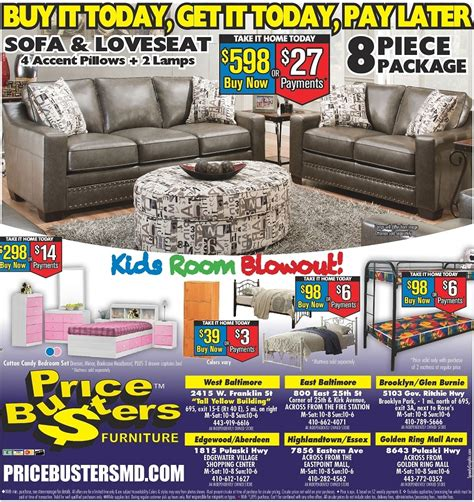 Price Busters Furniture Store by Price Busters Discount Furniture In Essex Md 21224