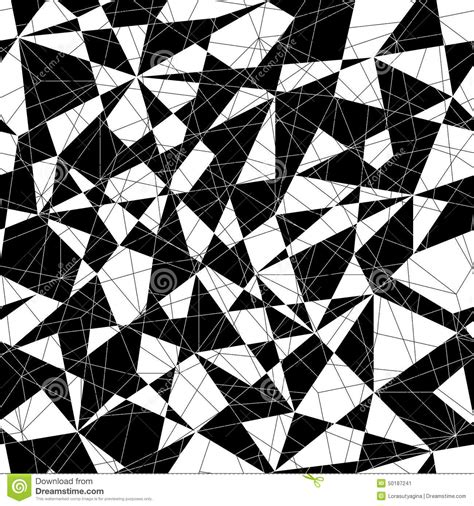 triangle mosaic pattern abstract mosaic pattern with triangles seamless vector