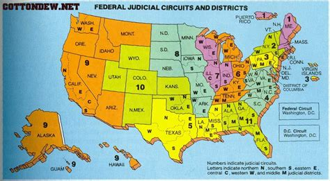 us circuit court map map of federal courts a new century of forest planning