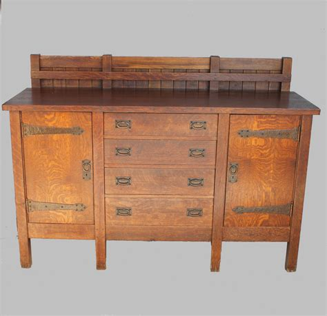 stickley oak mission classics roycroft 5 drawer sideboard bargain john s antiques 187 blog archive rare gustav