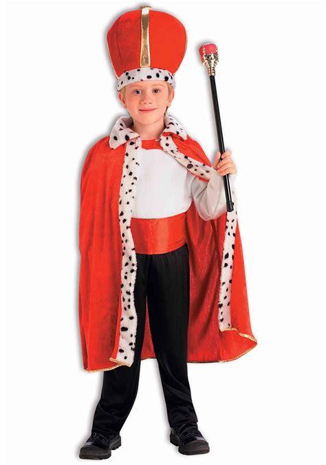 Bathrobe Crown child king robe and crown set