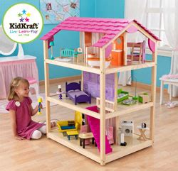 kidkraft so chic doll house go kids play parent s top rated best dollhouses and dollhouse furniture