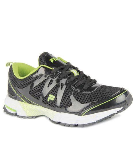 fila green sneakers fila black green sports shoes price in india buy fila