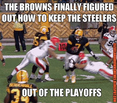 Steelers Suck Meme - cleveland browns memes the browns knocking the steelers