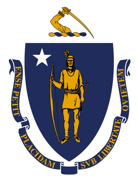 state pictures massachusetts state flag