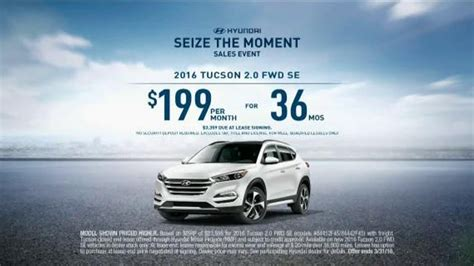 who is the actress in hyundai seize the moment commercial hyundai seize the moment sales event tv spot suv combo