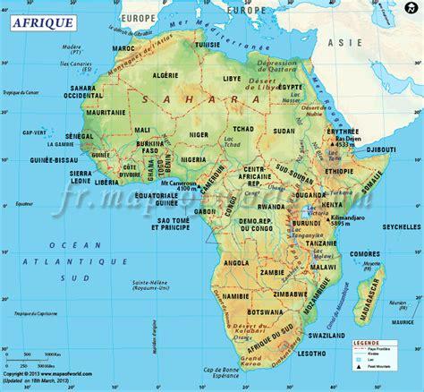 Geos Mere Et Moi Blue Map carte d afrique carte de monde
