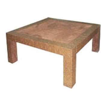 Square Table L Faux Leather Square Table L