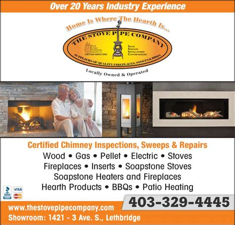 Hearth And Patio Winnipeg Hours Stovepipe Co Inc Lethbridge Ab 1421 3 Ave S Canpages