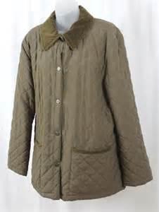 beretta italian quilted olive khaki s barn jacket