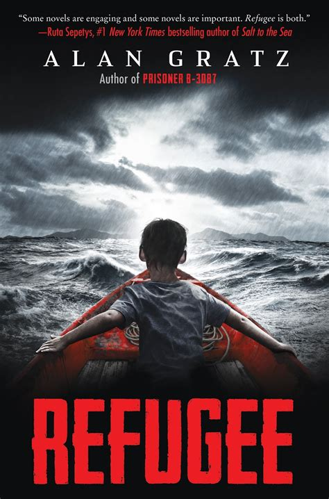 the refugees books connect read cover reveal for refugee by alan gratz