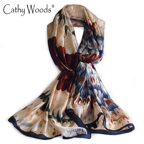 luxury brand new scarf summer 100 silk scarf
