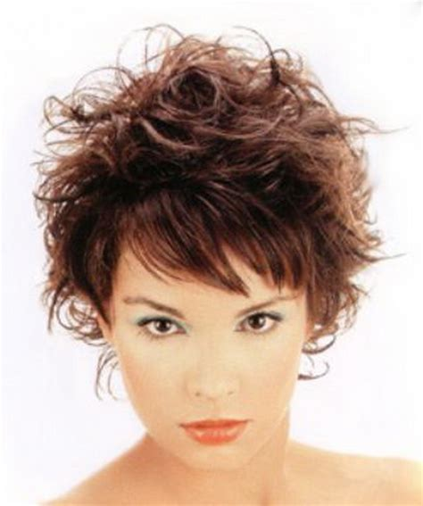 Katie Hill Salon Short Messy Ladies Haircut With Bangs   newhairstylesformen2014.com