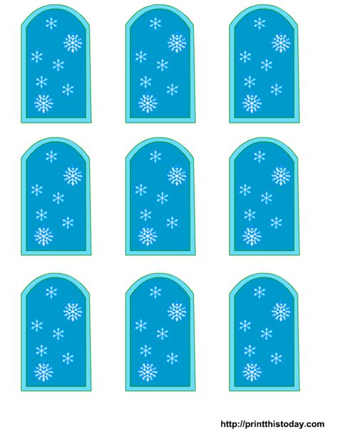 Baby Shower Tags For Favors Free Templates by Free Winter Baby Shower Favor Tags Templates