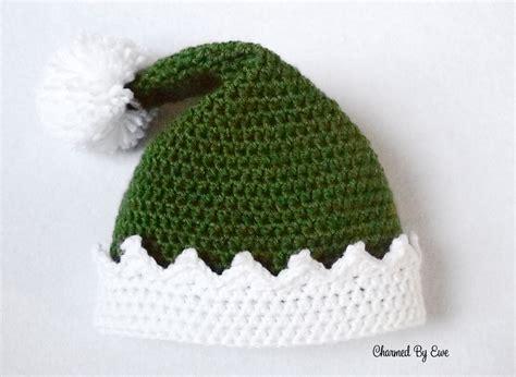 xmas hat pattern elf hat charmed by ewe