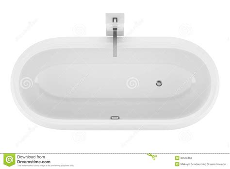 bathtub top top view of modern bathtub isolated on white royalty free