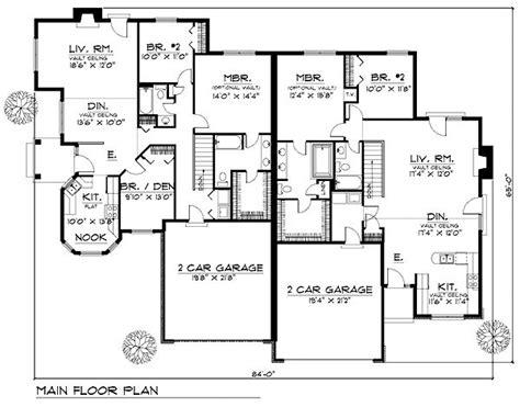 Duplex House Plans With Garage by 42 Best Modern Duplex Images On Architecture