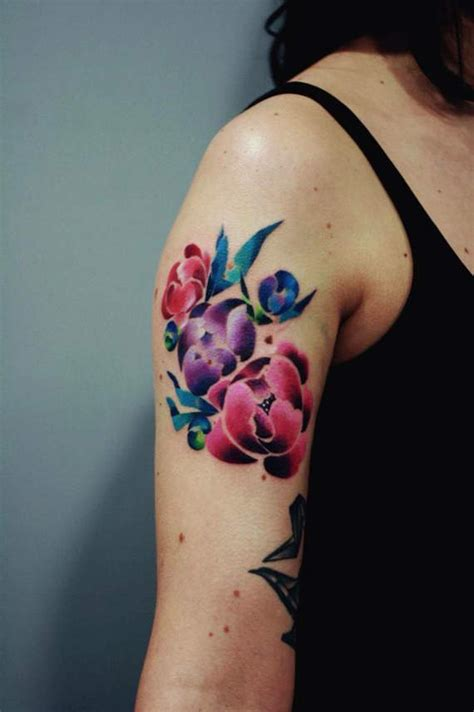 flower tattoo on the arm 100 topmost arm tattoos for guys and girls