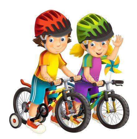 imagenes niños manejando bicicleta bicicletas imagenes animadas imagui