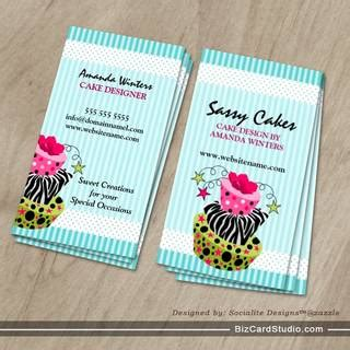 cake business cards templates bakery business card templates studio