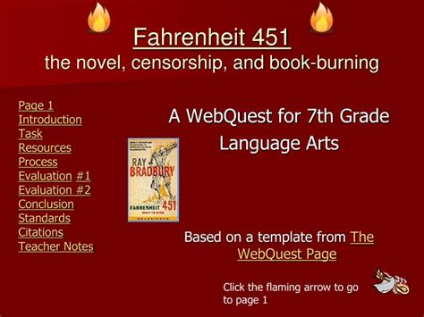 fahrenheit 451 book report ppt fahrenheit 451 the novel censorship and book