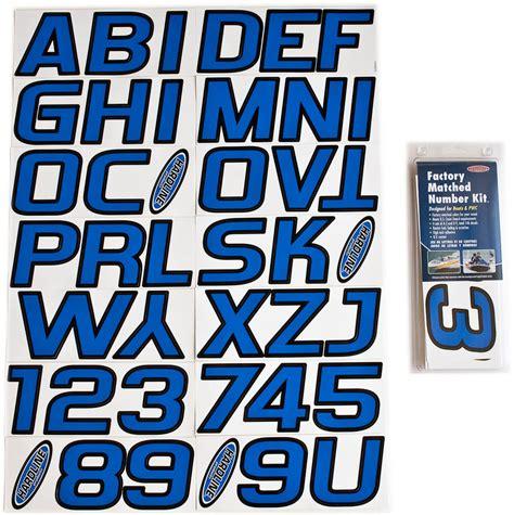boat lettering registration numbers blue black boat lettering registration numbers 700
