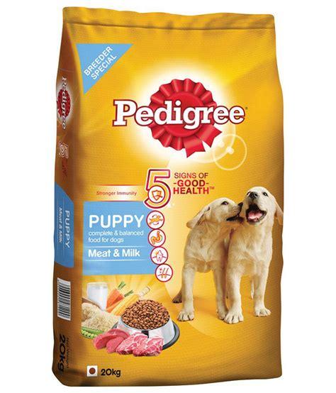 Food Pedigree 1 5 Kg 1 pedigree puppy food milk 20 kg pack buy pedigree puppy food milk