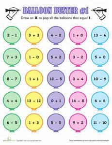 fun math facts 1st grade worksheets education com