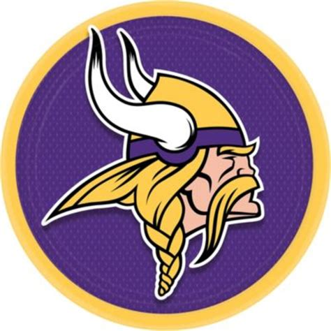 minnesota vikings lunch plates party city