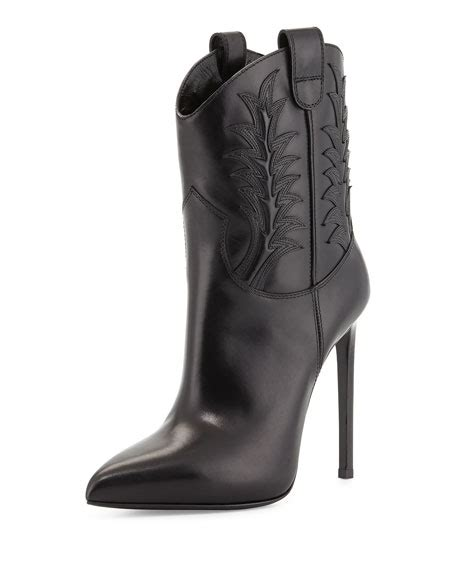western boots with high heels laurent high heel western boot