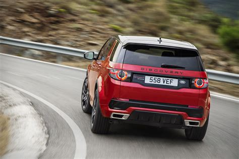 land rover discovery sport red 2017 land rover discovery sport hiconsumption