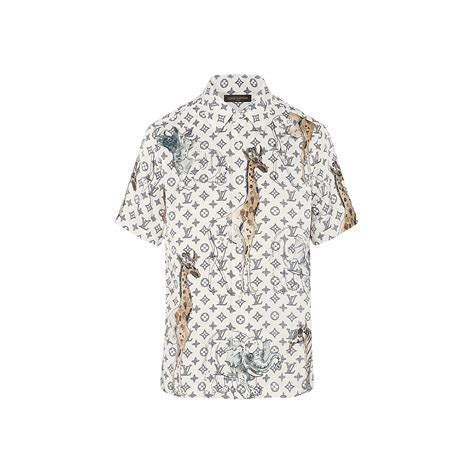louis vuitton pattern t shirt louis vuitton monogram printed short sleeves shirt 1a2qjm