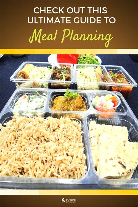 5 Great Ideas To Check Out by Check Out This Ultimate Guide To Meal Planning Marine